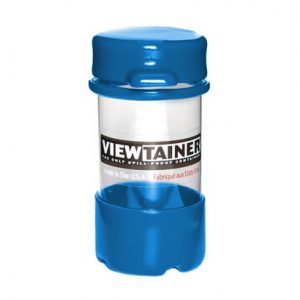 5 x 10cm Viewtainer Tethered Cap Container