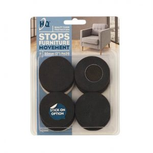 HQ Self Adhesive Floor Protection Stops Furniture Movement