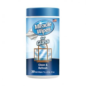 Miracle Wipes Glass